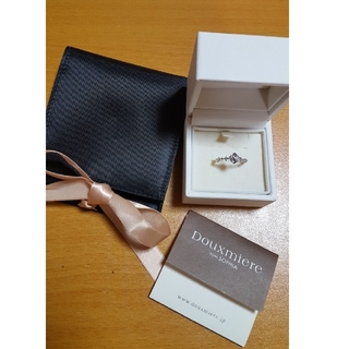 Douxmiere  bijou SOPHIA/k10WG ダイヤモンドリング