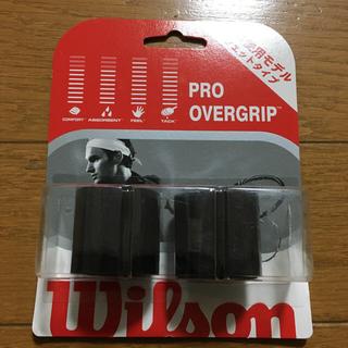 ウィルソン(wilson)のテニス グリップテープ ブラック Wilson(テニス)