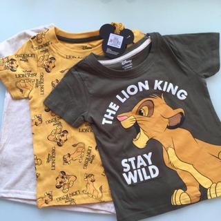 Disney - ディズニー ライオンキング Tシャツ3枚 日本未発売 プライマーク Disney