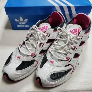 アディダス(adidas)の【美品】adidas アディダス リフレクター 軽量 ピンク 29.5cm(スニーカー)