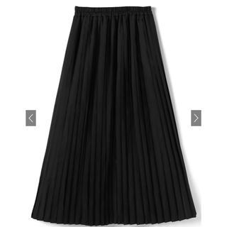 GRL - grl サテン プリーツスカート 黒