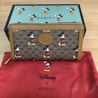 Gucci - 新作 グッチ×ディズニー ミッキー Gucci 長財布 2020 Disney