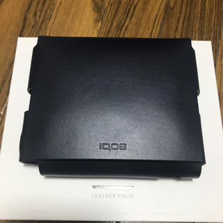 IQOS - レザーフォリオiQOS(ミッドナイトブルー)