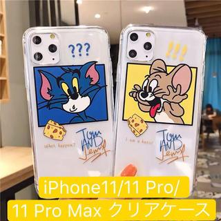 トム&ジェリー クリアケース iPhone11/11Pro/11Pro Max