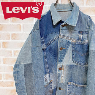 Levi's - 【激レア‼︎】LEVIS◎リメイク 再構築 90s デニム カバーオール