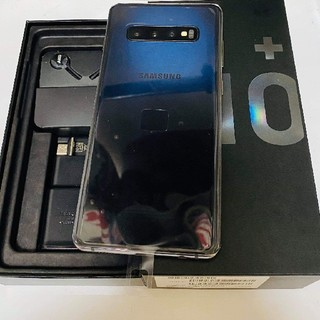 Galaxy - Samsung Galaxy S10plus DUAL ブラック