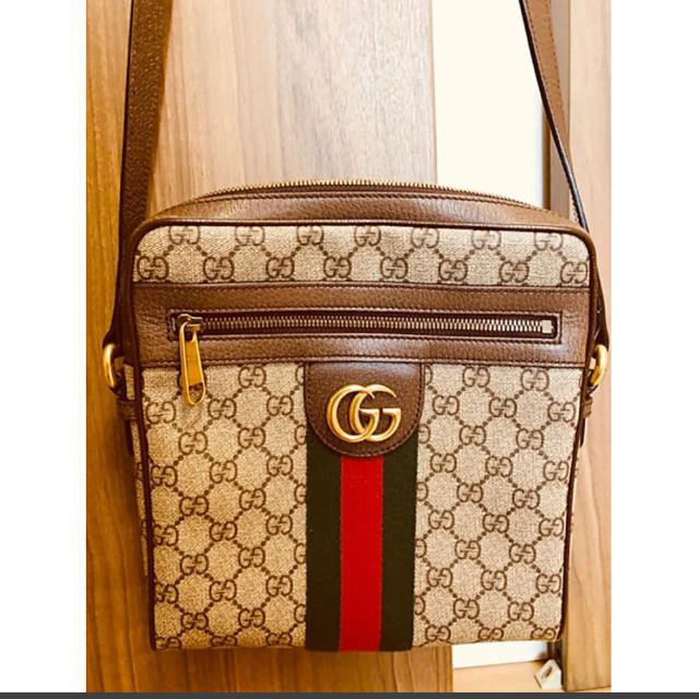 Gucci - GUCCI スモールメッセンジャーバッグの通販