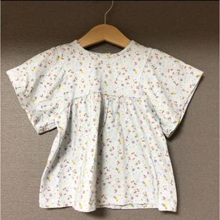 ZARA KIDS - ザラベイビー 花柄カットソー Tシャツ