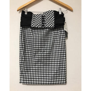 SCOT CLUB - 新品❤️GRAND TABLE コルセット付ギンガムチェックタイトスカート