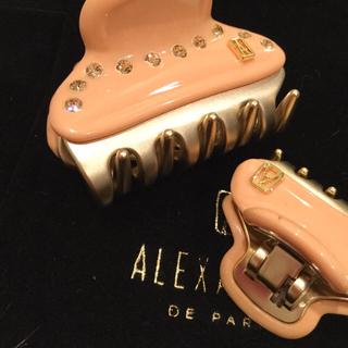 Alexandre de Paris - ALEXANDRE DE PARIS 新品 大人可愛いクリップ 巾着付