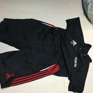 adidas - 帝京第三高校サッカー部 ポロシャツとズボン