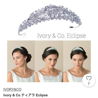 ivory&co eclips ティアラ 未使用
