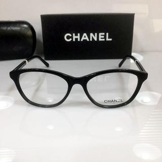 CHANEL -  未使用 CHANEL メガネフレーム ブラック