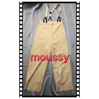 moussy - EMODAハイウエストサロペットパンツ