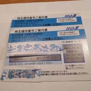 ANA(全日本空輸) - ANA株主優待券 2枚セット