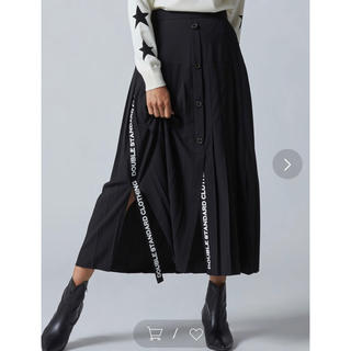 DOUBLE STANDARD CLOTHING - ダブルスタンダード 今季 スカート 完売品