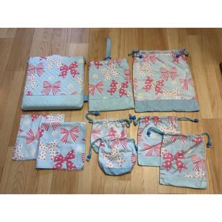 プティマイン(petit main)のカラフルキャンディスタイル*総額¥13,858!入学入園9点セット+おまけ(通園バッグ)