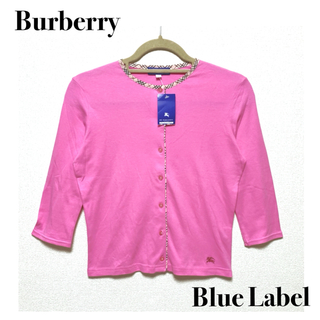 BURBERRY BLUE LABEL - 新品 Burberry Blue Label  カーディガン