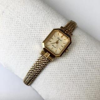 ORIENT - オリエント  レディースクォーツ腕時計 電池あり
