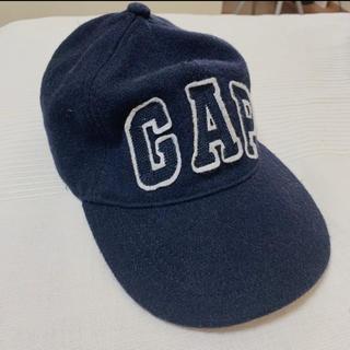 ギャップ(GAP)のGAP CAP ギャップ 紺色フェルトキャップ(キャップ)