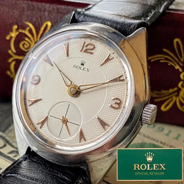 ROLEX - 【豪華】ROLEX ★ ロレックス アンティーク 手巻き機械式腕時計 入手困難の通販