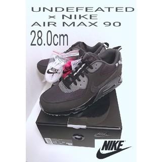 UNDEFEATED - 新品 試し履き無し アンディフィーテッド ナイキ エアマックス 90 送料無料