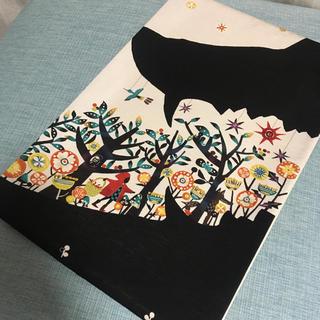 新品未使用 正絹 京袋帯 名古屋帯 赤ずきんちゃん 童話 狼