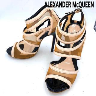 アレキサンダーマックイーン(Alexander McQueen)の【ALEXANDER McQUEEN】サンダル パンプス ヒール(サンダル)