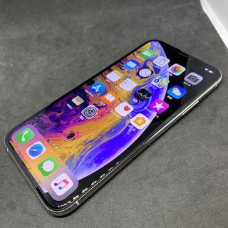 iPhone - ジャンク 美品 SIMフリー iPhoneXs シルバー 256GB SB