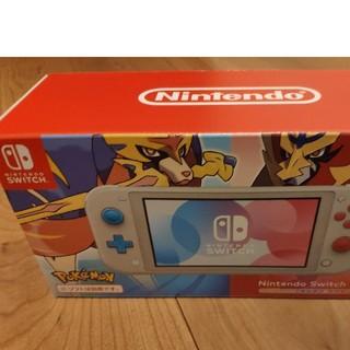 Nintendo Switch - 新品未使用 Nintendo Switch Lite ザシアン・ザマゼンタ