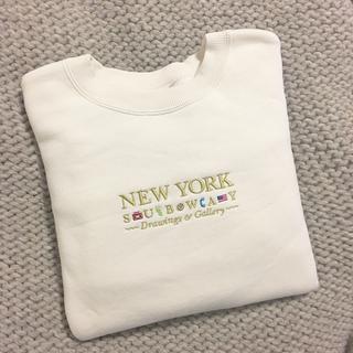 moussy - MOUSSY NEW YORK EMBROIDERY プルオーバー
