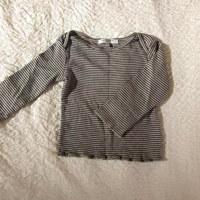 Caramel baby&child (キャラメルベビー&チャイルド)のcaramel キャラメル ボーダーカットソー ロンT 定番 キッズ/ベビー/マタニティのベビー服(~85cm)(シャツ/カットソー)の商品写真