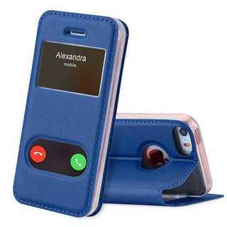 手帳型 iPhoneケース ★ブルー