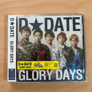 GLORY DAYS(通常盤A)CD+DVD(ポップス/ロック(邦楽))