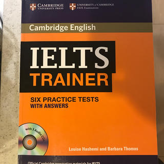 IELTS TRAINER SIX PRACTICE TESTS(語学/参考書)
