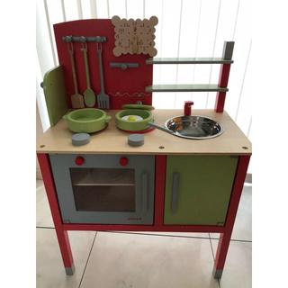 Janod ジャノー おままごとキッチン トイザらス 木製 キッチン