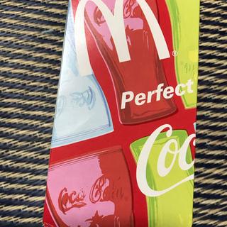 コカコーラ(コカ・コーラ)の新品未使用・非売品 コカコーラ マクドナルド グラス コンツアーグラフ ピンク(ノベルティグッズ)