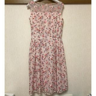 TOCCA - TOCCAピンクお花刺繍ドレス