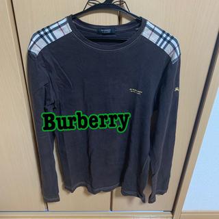 BURBERRY BLACK LABEL - 【中古】バーバリー メンズ ロンT