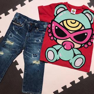 HYSTERIC MINI - Tシャツ&デニムセット90