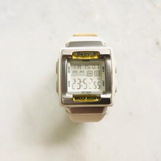 ベビージー(Baby-G)のBabyG オフホワイト(腕時計)
