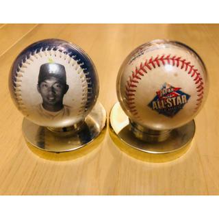 日米野球 公式ボール&野茂 オールスター出場記念 フォトボール 1995