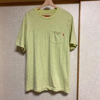 シュプリーム(Supreme)のsupreme ポケットT イエロー サイズL(Tシャツ/カットソー(半袖/袖なし))