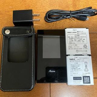 NEC - NEC Aterm MR05LN◆電池2個&3000円のケース付◆デュアルSIM