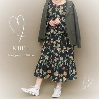 KBF+ - 美品♥️KBF+*ケービーエフプラス*アーバンリサーチ♥️花柄マキシワンピース