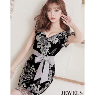 JEWELS - jewels新作ラグジュアリーフラワーキャバドレス