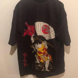 アートヴィンテージ(ART VINTAGE)の古着 開襟シャツ ビンテージ 一点物 金太郎(シャツ)