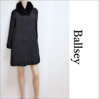ボールジィ(Ballsey)のBALLSEY ファー付き コート アウター♡マックスマーラ foxy ルネ(ロングコート)