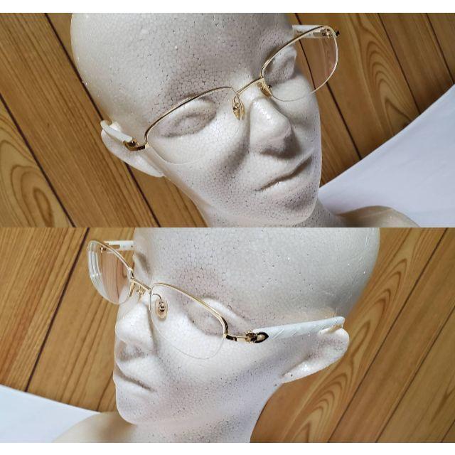 Cartier(カルティエ)の正規 ガクト着 同型 カルティエ Cデコール ロゴ シェルフレーム眼鏡 ゴールド メンズのファッション小物(サングラス/メガネ)の商品写真