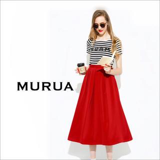 ムルーア(MURUA)のMURUA ROAM ボーダー Tシャツ♡EMODA リップサービス GYDA(Tシャツ(半袖/袖なし))